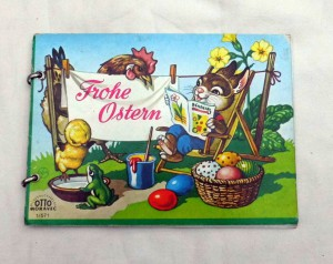Frohe-Ostern-Altes-Bilderbuch-mit-Ringbindung
